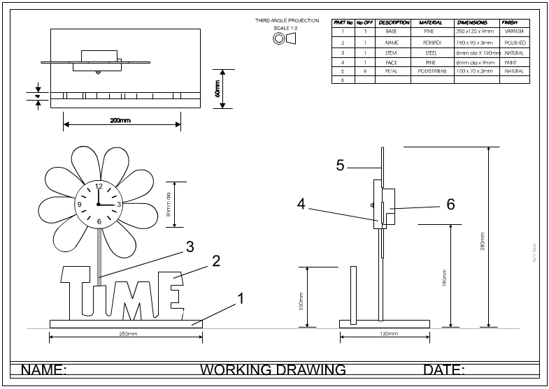 THE DESIGNER AND ORTHOGRAPHIC DRAWING